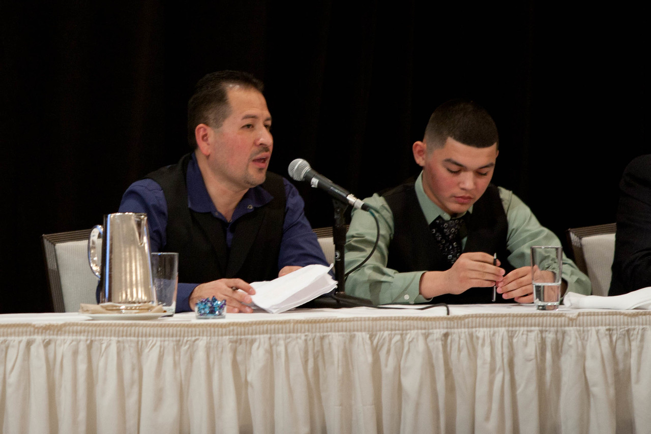 John - mentor, BBBS of the Greater Capital Region & Jonathan-mentee. 2012 National Mentoring Summit. Corporation for National and Community Service Photo.