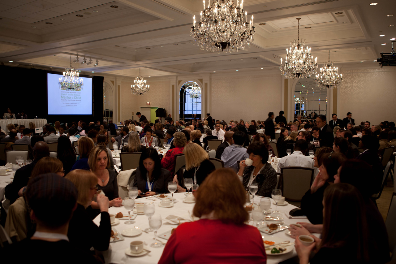2012 National Mentoring Summit, Washington, D.C. Corporation for National and Community Service Photo.
