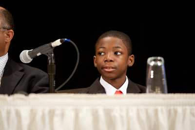 Chad-mentee. 2012 National Mentoring Summit. Corporation for National and Community Service Photo.