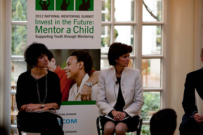 Gail Gershon, Director, Employee Engagement, Gap Inc. & Nancy Altobello, Vice Chair, People, Ernst & Young. 2012 National Mentoring Summit. Corporation for National and Community Service Photo.