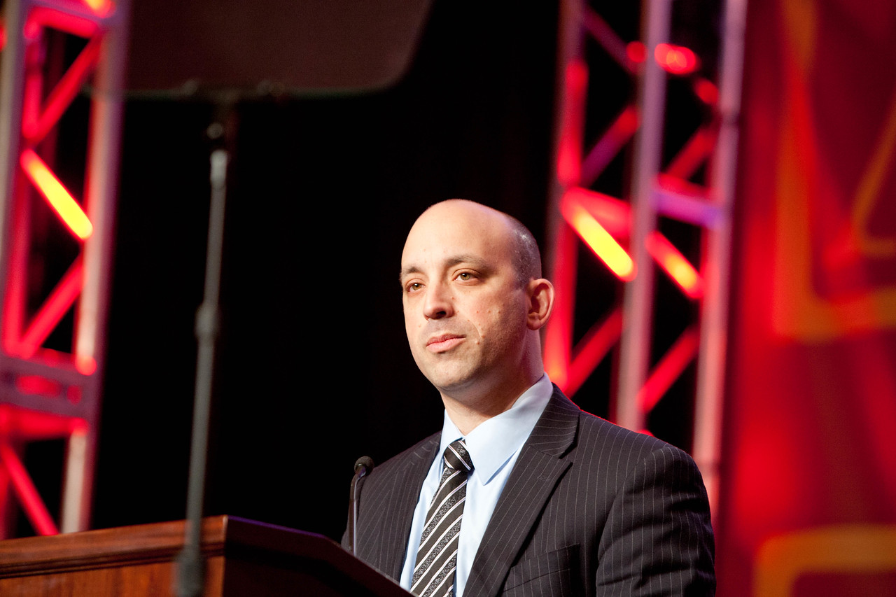Special Assistant to the President and Director of the Office of Social Innovation and Civic Participation in the Domestic Policy Council, Jonathan Greenblatt speaking at the annual ACE event in Washington, D.C. Corporation for National and Community Service Photo.