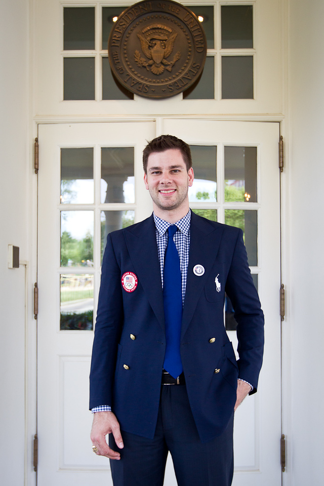 Tim Morehouse, U.S. Olympic Team medalist. Corporation for National and Community Service Photo.
