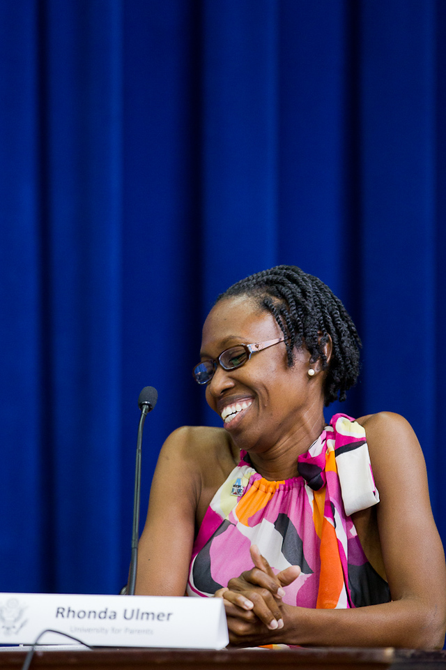Rhonda Ulmer, Founding Director, University for Parents. Corporation for National and Community Service Photo.