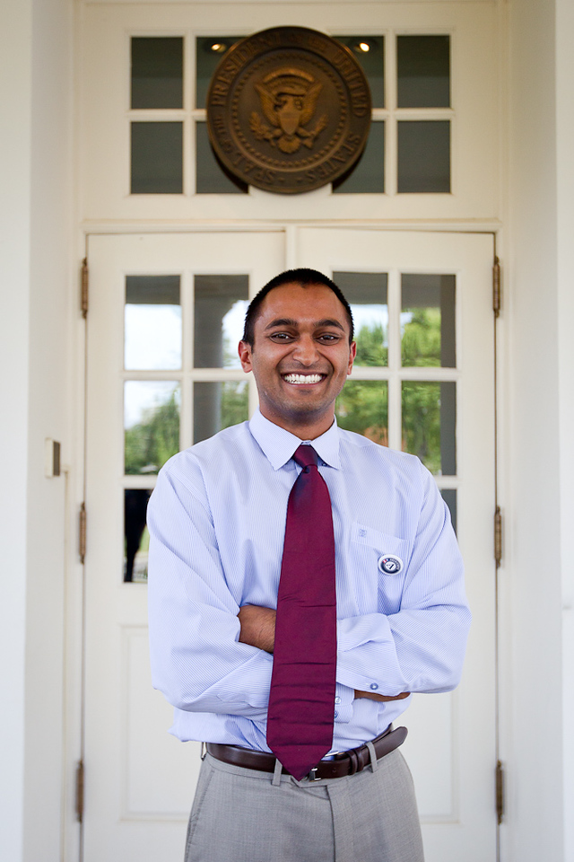 Shonak Patel, Co-founder, Gather Education. Corporation for National and Community Service Photo.
