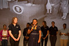 Higher Achievement students with AmeriCorps VISTA members reciting President Lyndon B. Johnson's induction speech from 1964 of the first class of AmeriCorps VISTAs at the AmeriCorps VISTA 50th anniversary celebration held at the National Museum of the American Indian in Washington, D.C. Corporation for National and Community Service Photo.
