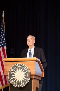 Former U.S. Senator and Former CEO of CNCS, Harris Wofford speaking at the AmeriCorps VISTA 50th anniversary celebration held at the National Museum of the American Indian in Washington, D.C. Corporation for National and Community Service Photo.