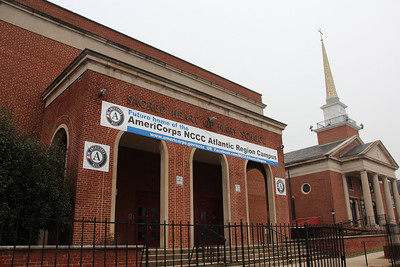 The future home of the AmeriCorps NCCC Atlantic Region Campus in Baltimore, MD, scheduled to open in spring of 2013, is located at the former Sacred Heart of Mary School in the Dundalk neighborhood of Baltimore. Corporation for National and Community Service Photo.