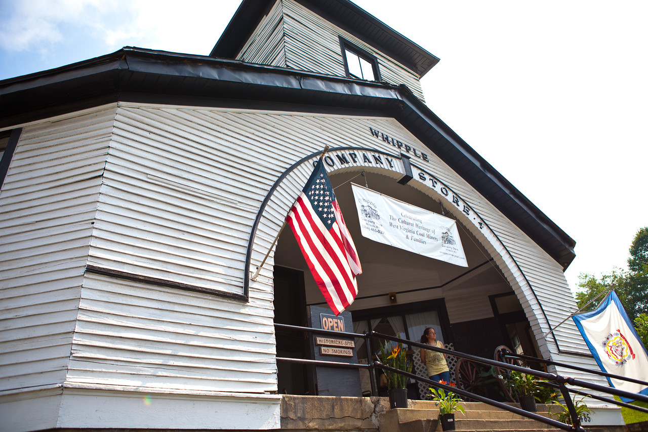 Whipple store in Whipple, WV - site of a service project. Corporation for National and Community Service Photo.