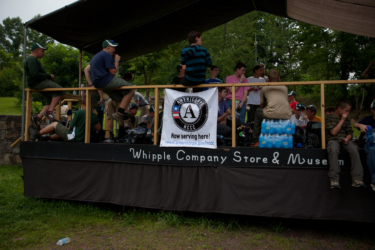 Whipple, WV. Corporation for National and Community Service Photo.