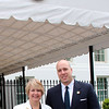 CNCS CEO Wendy Spencer with honoree Simon Moore outside the White House at a Champions of Change event on May 1, 2015. Corporation for National and Community Service Photo.