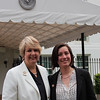 CNCS CEO Wendy Spencer with honoree Julia Hillengas outside the White House at a Champions of Change event on May 1, 2015. Corporation for National and Community Service Photo.