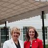 CNCS CEO Wendy Spencer with honoree Julie Roby outside the White House at a Champions of Change event on May 1, 2015. Corporation for National and Community Service Photo.
