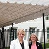 CNCS CEO Wendy Spencer with honoree Rachel Bristol outside the White House at a Champions of Change event on May 1, 2015. Corporation for National and Community Service Photo.