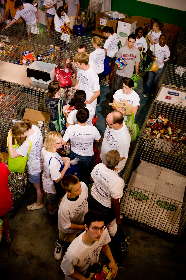 9/11 Day of Service. Corporation for National and Community Service Photo.