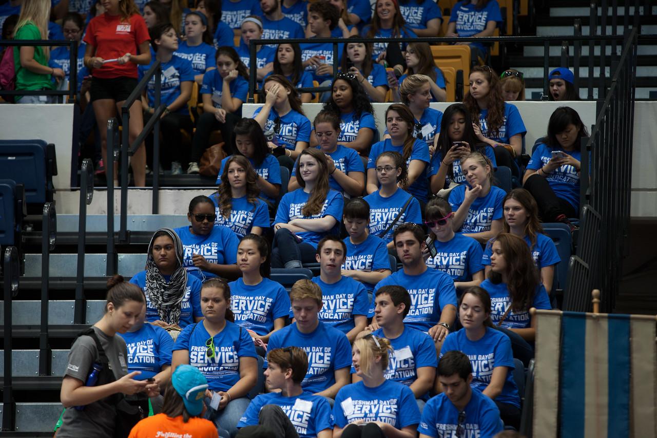 George Washington University Freshman Day of Service. Corporation for National and Community Service Photo.