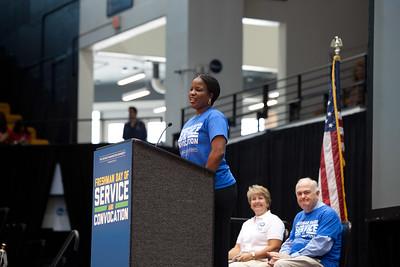 GWU Trustee and Chair of the National Board of Directors, NAACP, Roslyn Brock. Corporation for National and Community Service Photo.