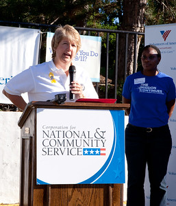 CNCS CEO, Wendy Spencer. Corporation for National and Community Service Photo.