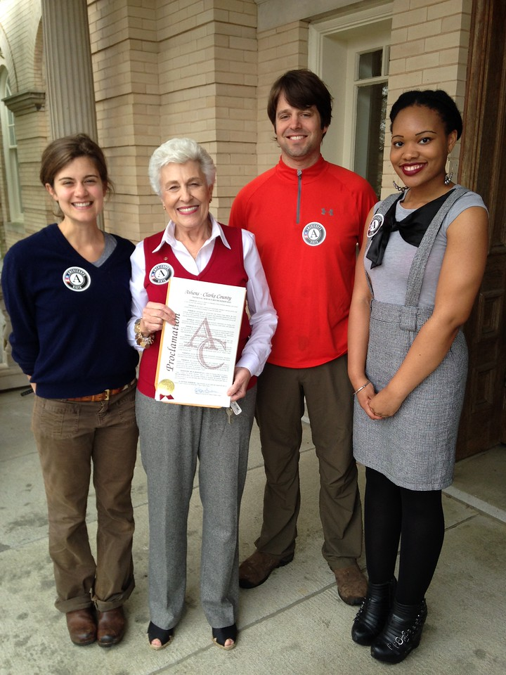 Mayors Day of Recognition for National Service.  Corporation for National and Community Service Photo.