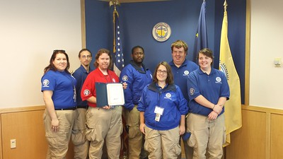 FEMA Corps members participating in Mayors Day of Recognition for National Service in Anchorage, AK on April 1, 2014.Corporation for National and Community Service Photo.