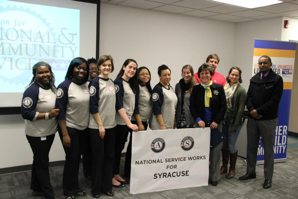 Syracuse, NY. Corporation for National and Community Service Photo.