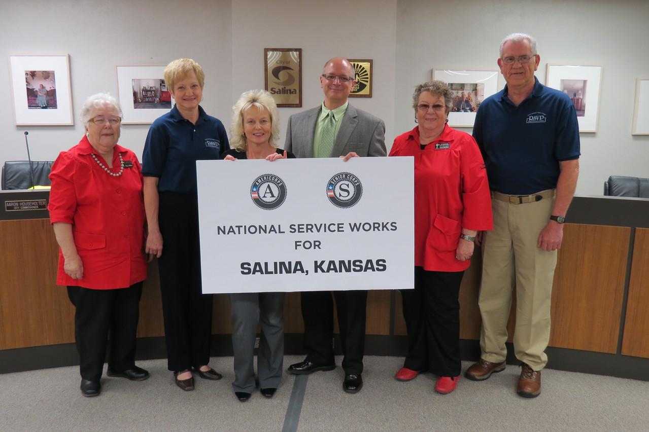 Salina, KS.Corporation for National and Community Service Photo.
