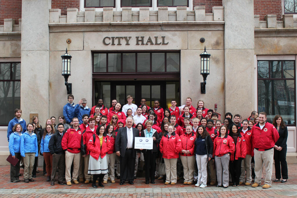 Manchester, NH. Corporation for National and Community Service Photo.