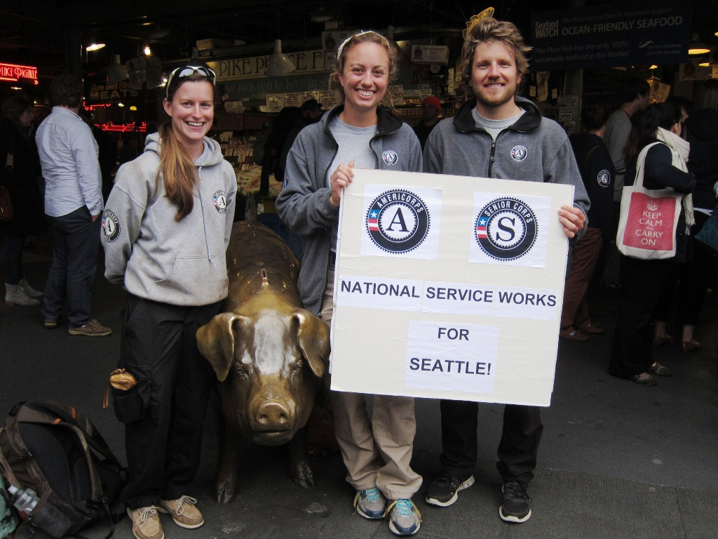 Seattle, WA. Corporation for National and Community Service Photo.