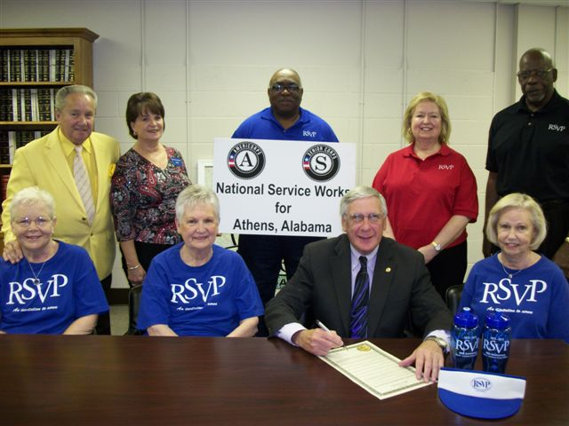 Athens, AL. Corporation for National and Community Service Photo.