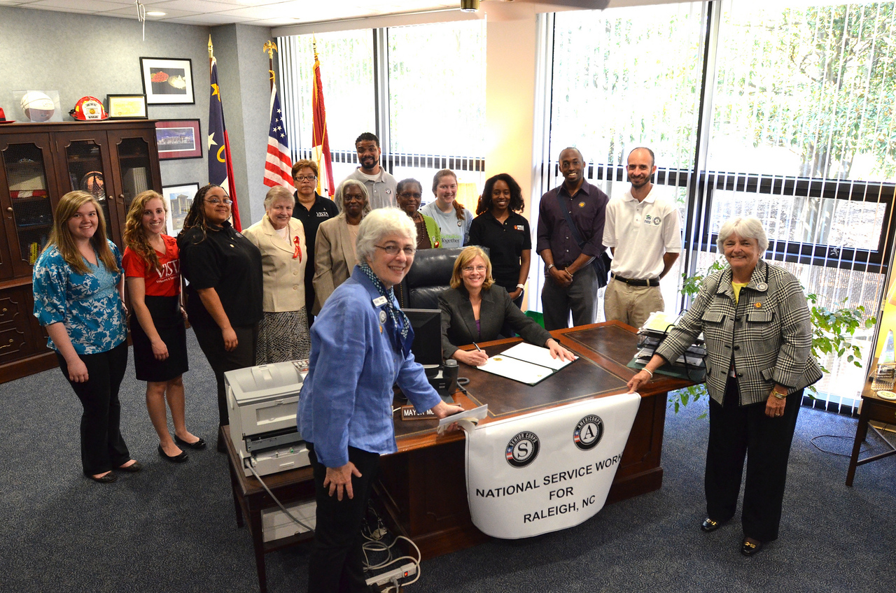 Raleigh, NC, Mayor Nancy McFarlane. Corporation for National and Community Service Photo.
