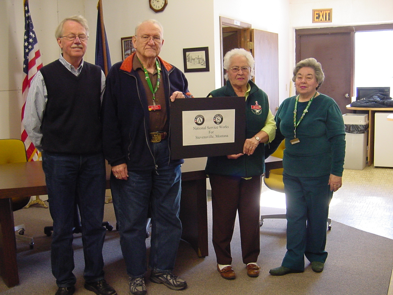 Stevensville, MT. Corporation for National and Community Service Photo.
