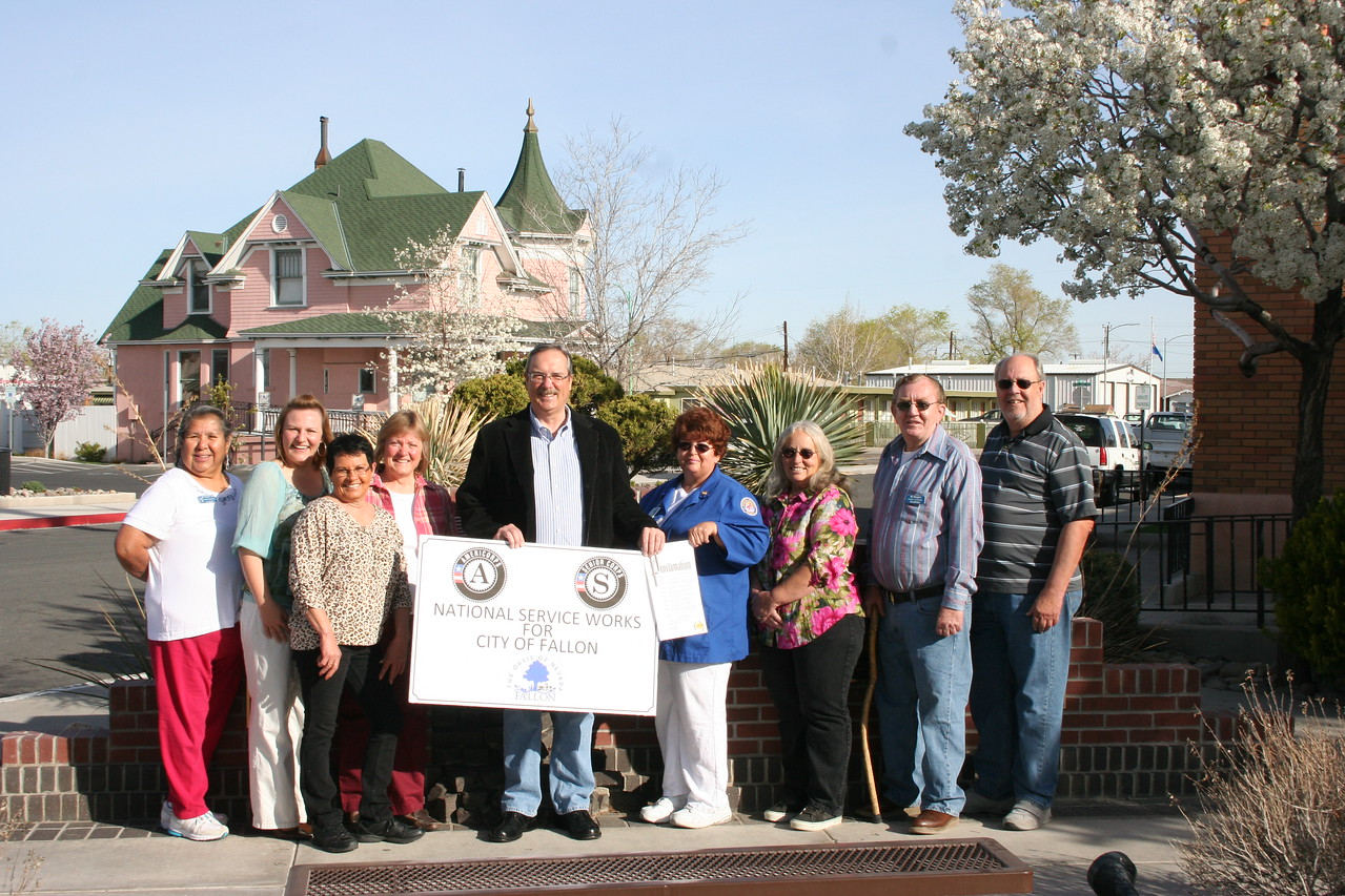 Fallon, NV. Corporation for National and Community Service Photo.