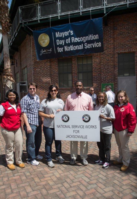 Jacksonville, FL. Corporation for National and Community Service Photo.