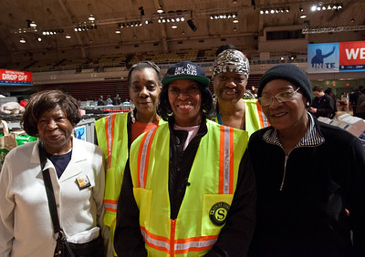 A group of Senior Corps members from Washington takes a break to smile for the camera during the National Day of Service and MLK Day of Service event at the D.C. Armory on Jan. 19, 2013. (Corporation for National and Community Service Photo)