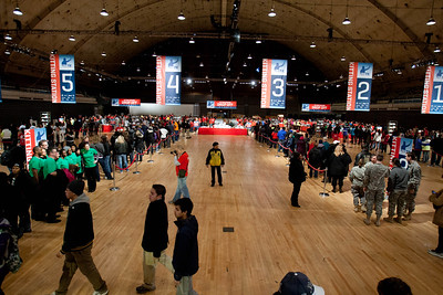 DC Armory - National Day of Service - MLK Day 2013. Corporation for National and Community Service Photo.