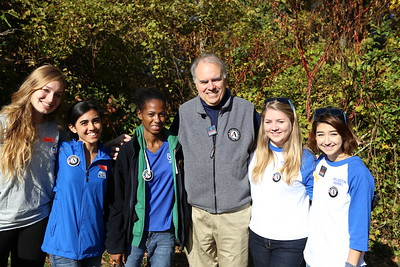 Director of AmeriCorps Bill Basl with AmeriCorps State and VISTA members serving at an SCA sponsored service project on Veterans Day in Washington, D.C. Corporation for National and Community Service Photo.