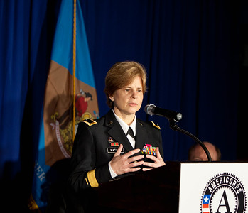 Brig. Gen. Marianne E. Watson, National Guard Bureau Director of Manpower and Personnel. Corporation for National and Community Service Photo.