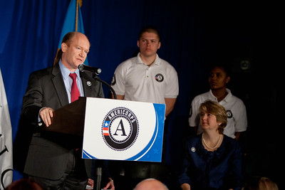 Sen. Chris Coons (DE). Corporation for National and Community Service Photo.