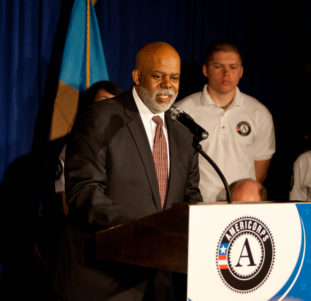 Wilmington Mayor Dennis P. Williams. Corporation for National and Community Service Photo.