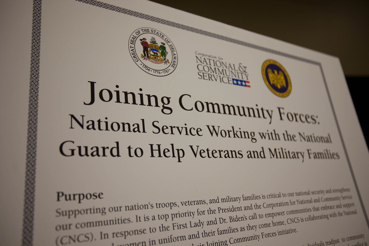 Joining Community Forces MOU - Wilmington, DE Boys and Girls Club. Corporation for National and Community Service Photo.