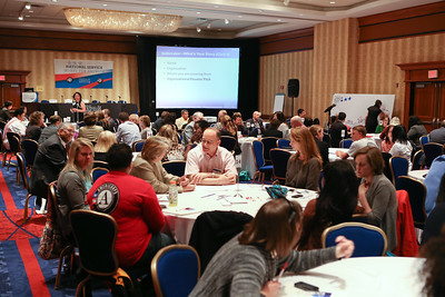 Participants at the 2014 Education Symposium. Corporation for National and Community Service Photo.