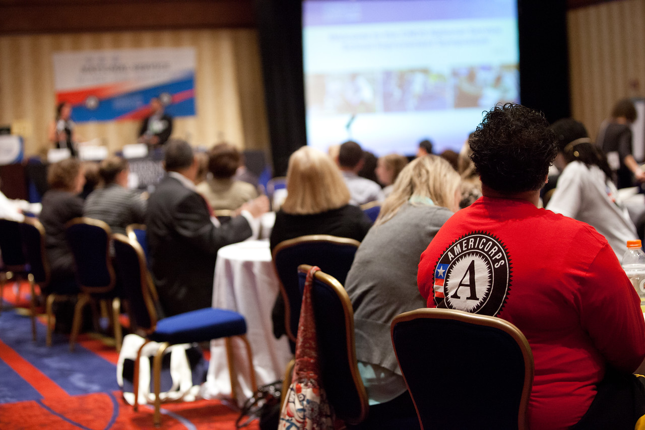 2014 Education Symposium. Corporation for National and Community Service Photo.