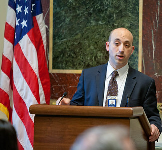 Special Assistant to the President and Director of the Office of Social Innovation and Civic Participation at the Domestic Policy Council, Jonathan Greenblatt. Corporation for National and Community Service Photo.