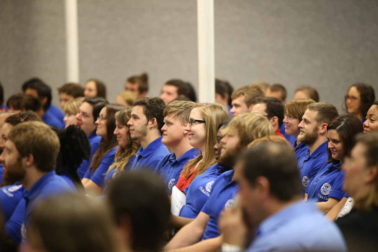 FEMA Corps members at graduation. Corporation for National and Community Service Photo.