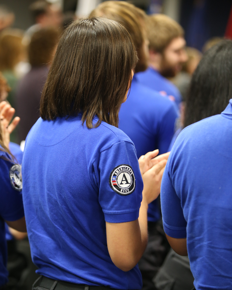 FEMA Corps members. Corporation for National and Community Service Photo.