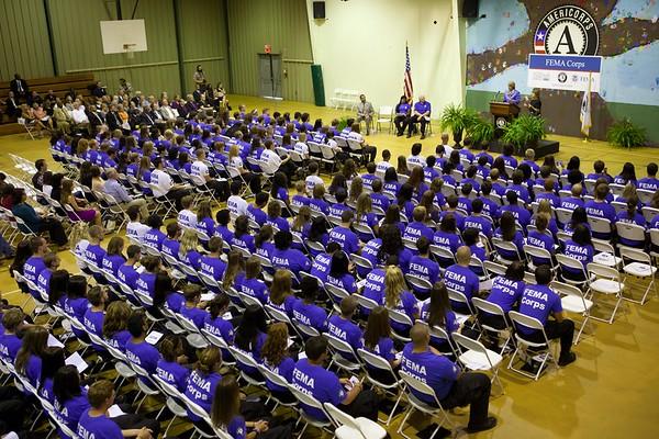 FEMA Corps Induction - Vicksburg September 13, 2012