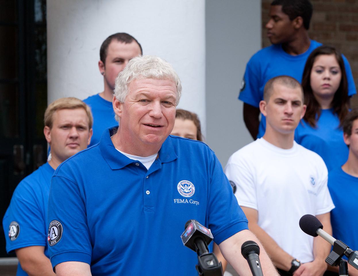 FEMA Deputy Administrator, Richard Serino. Corporation for National and Community Service Photo.
