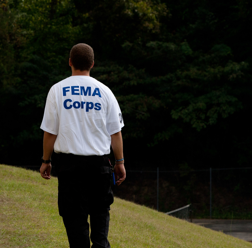 FEMA Corps team leader. Corporation for National and Community Service Photo.