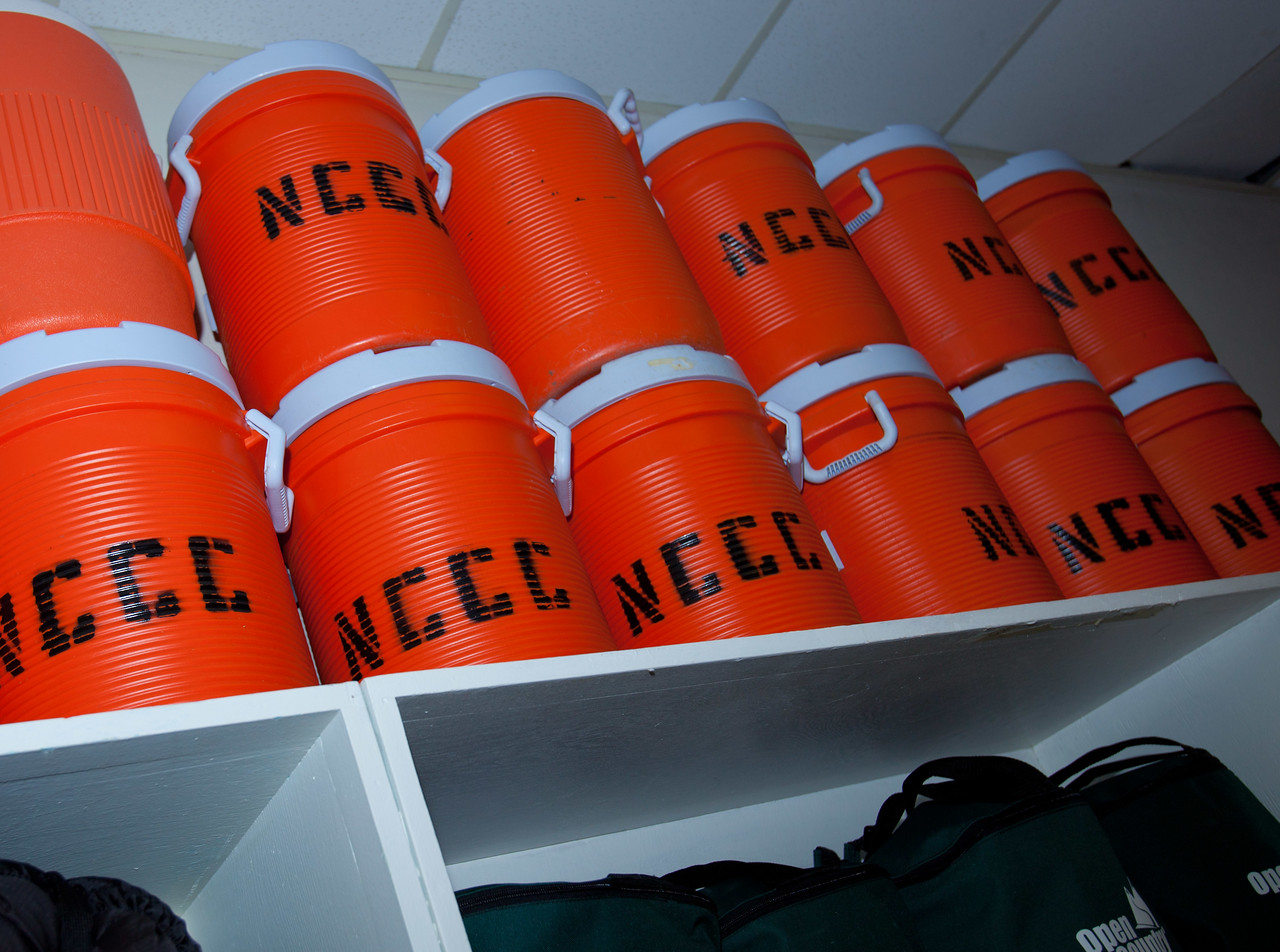 NCCC Water jugs. Corporation for National and Community Service Photo.