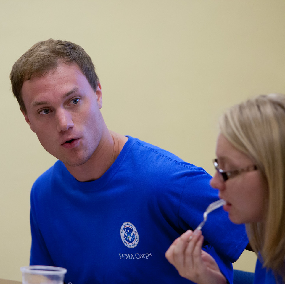 FEMA Corps member, Michael Hollman. Corporation for National and Community Service Photo.
