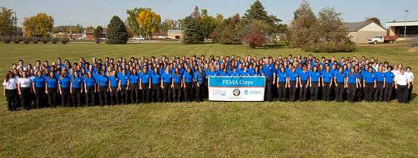 FEMA Corps 2012 Inaugural class, Vinton Iowa. Corporation for National and Community Service Photo.